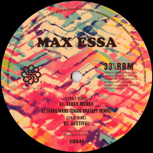 max-essa-sekko-mekko-aestival-craig-is-it-balearic-cover