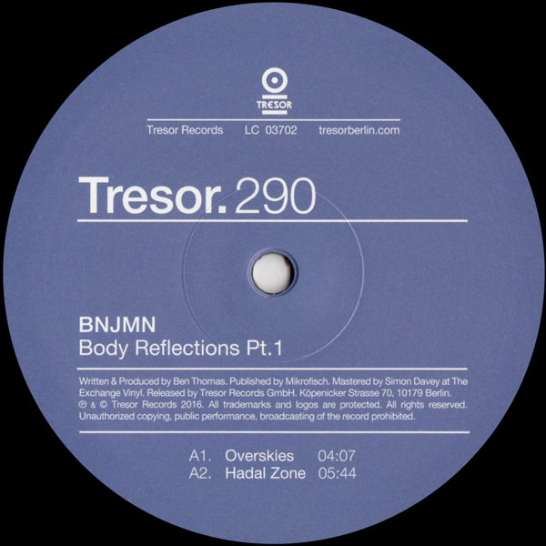 bnjmn-body-reflections-pt-1-tresor-cover
