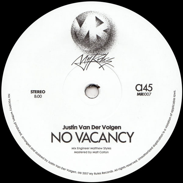 justin-van-der-volgen-no-vacancy-my-rules-cover
