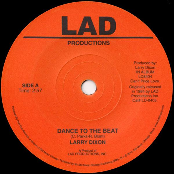 larry-dixon-dance-to-the-beat-wait-for-past-due-cover