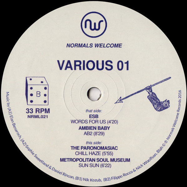 various-artists-various-01-normals-welco-normals-welcome-cover