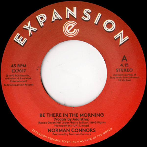 norman-connors-be-there-in-the-morning-i-expansion-cover