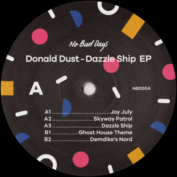 donald-dust-dazzle-ship-ep-no-bad-days-cover