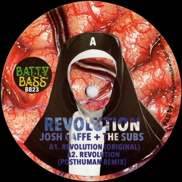 josh-caffe-the-subs-revolution-posthuman-aerea-batty-bass-records-cover