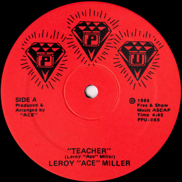 leroy-ace-miller-teacher-the-teacher-ppu-records-cover