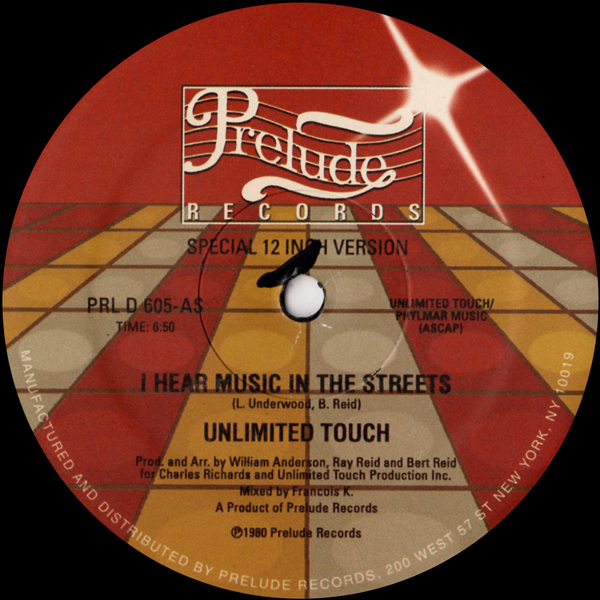 unlimited-touch-i-hear-music-in-the-street-prelude-records-cover