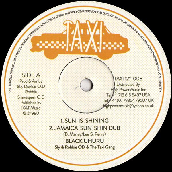 black-uhuru-joy-white-sun-is-shining-tribulat-taxi-cover