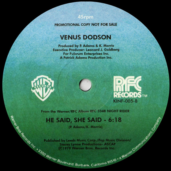 venus-dodson-shining-kinfine-records-cover