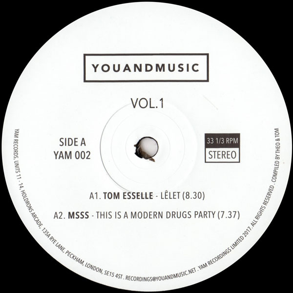 tom-esselle-sofatalk-leonida-youandmusic-vol-1-yam-records-cover