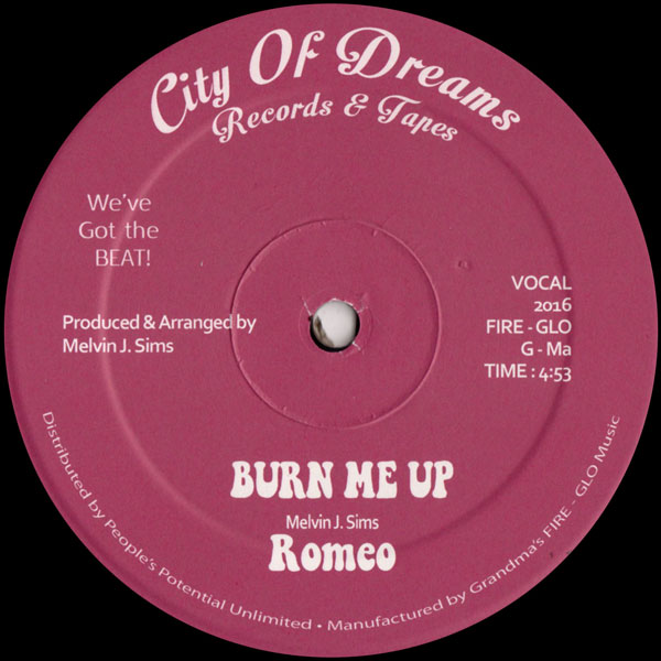 romeo-burn-me-up-city-of-dreams-cover