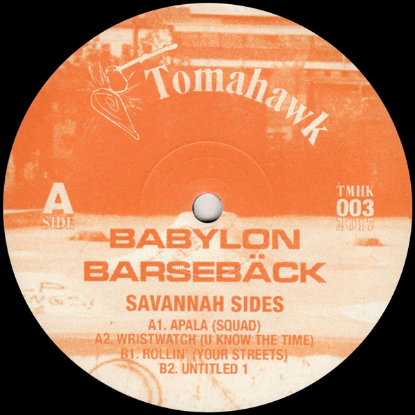 babylon-barseback-savannah-sides-tomahawk-records-cover