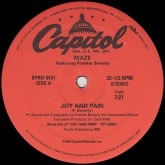 maze-joy-and-pain-capitol-cover