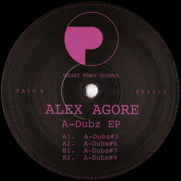 alex-agore-a-dubz-ep-pocket-money-records-cover
