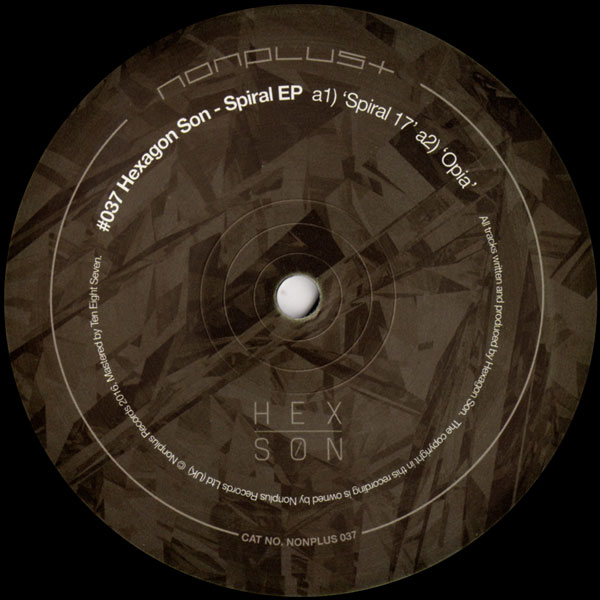 hexagon-son-spiral-ep-non-plus-records-cover