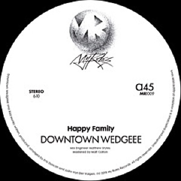 happy-family-downtown-wedgeee-bad-monks-my-rules-cover