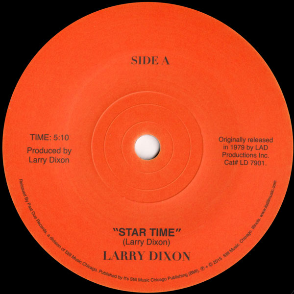 larry-dixon-star-time-youre-on-your-past-due-cover