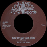 mule-thomas-blow-my-baby-back-home-take-hollywood-records-cover