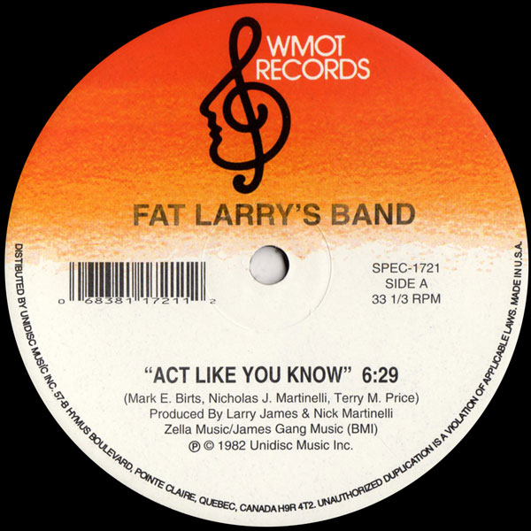 fat-larrys-band-act-like-you-know-zoom-unidisc-cover