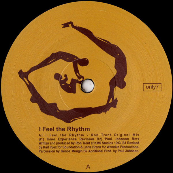 ron-trent-i-feel-the-rhythm-paul-johnson-only-one-music-cover