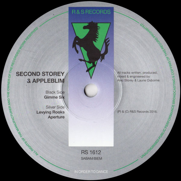 second-storey-appleblim-gimme-six-rs-records-cover