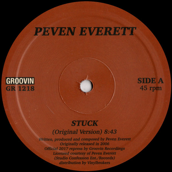peven-everett-stuck-groovin-recordings-cover