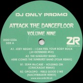 joey-negro-attack-the-dancefloor-volume-z-records-cover