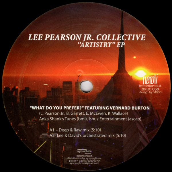 lee-pearson-jr-collective-artistry-ep-neroli-cover