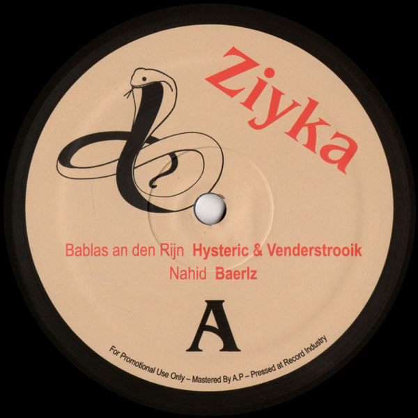hysteric-venderstrooik-baerl-ziyka-ziyka-cover