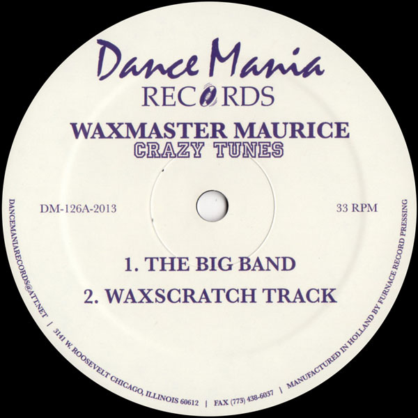 waxmaster-maurice-crazy-tunes-dance-mania-cover