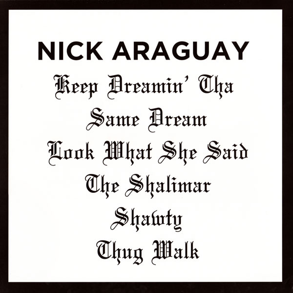 nick-araguay-keep-dreamin-the-same-dr-shall-not-fade-cover