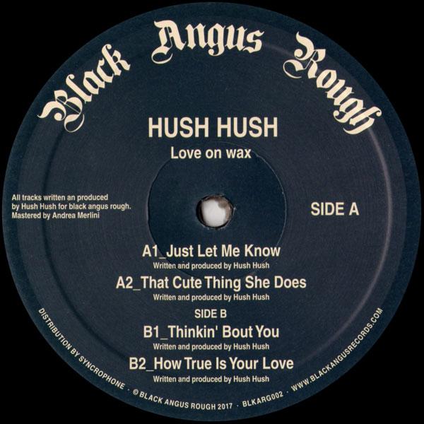 hush-hush-love-on-wax-black-angus-rough-cover