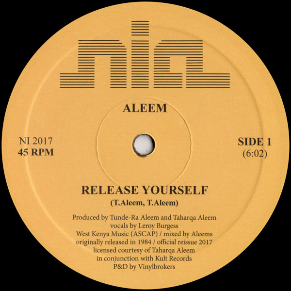 aleem-release-yourself-nia-cover