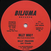 billy-frazier-and-friends-billy-who-biljuma-records-cover