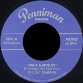 the-excitements-wait-a-minute-right-now-penniman-records-cover