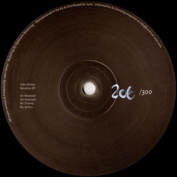 john-shima-rotation-ep-contrast-wax-cover