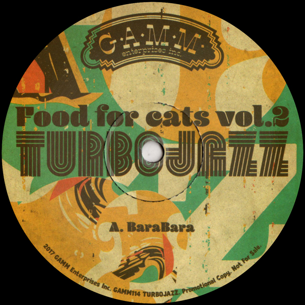 turbojazz-food-for-cats-vol-2-gamm-records-cover
