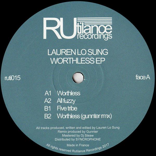 lauren-lo-sung-worthless-ep-gunnter-rem-rutilance-recordings-cover