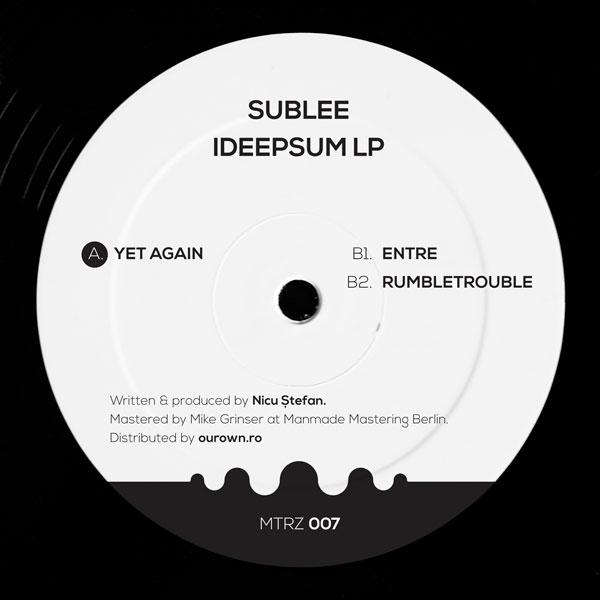 sublee-ideepsum-lp-metereze-cover