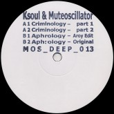 ksoul-muteoscillator-criminology-aphrology-mos-recordings-cover
