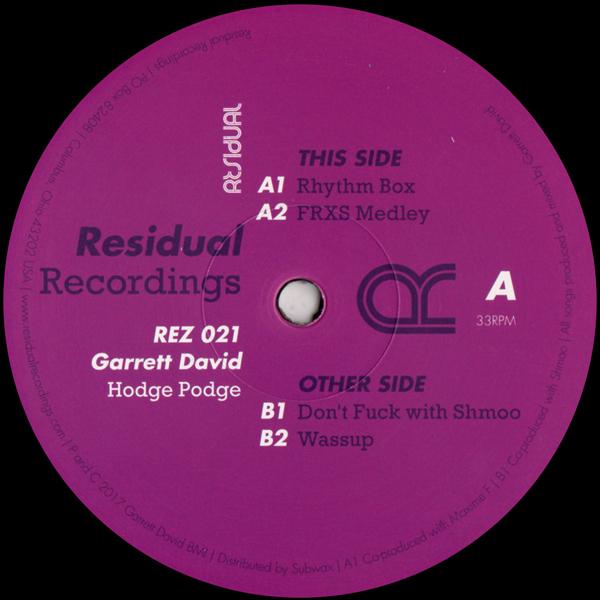 garrett-david-hodge-podge-residual-recordings-cover