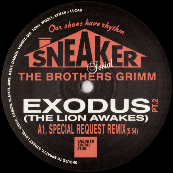 the-brothers-grimm-exodus-the-lion-awakes-pt-2-sneaker-social-club-cover