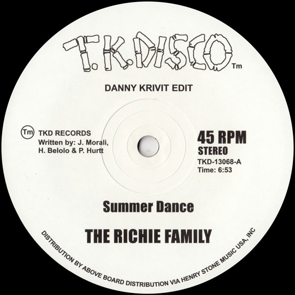 the-richie-family-wild-ho-summer-dance-at-the-top-of-the-tk-disco-cover
