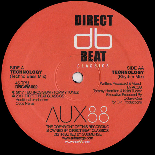 aux-88-technology-ep-direct-beat-classics-cover