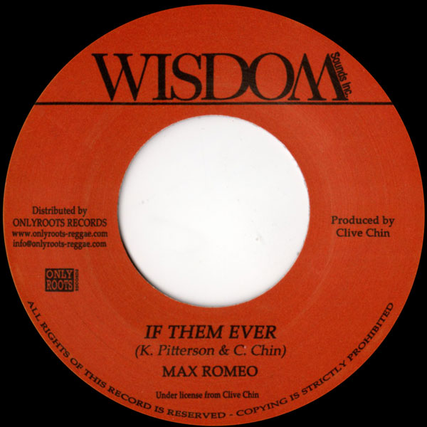 max-romeo-if-them-ever-wisdom-cover