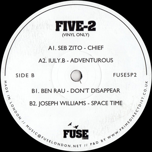 seb-zito-various-artists-five-2-fuse-london-cover