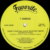 7-samurai-cosmic-jam-shake-it-dub-favorite-recordings-cover