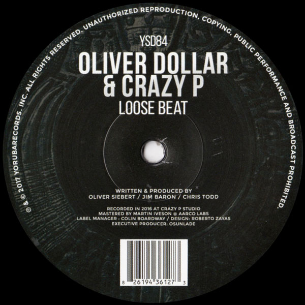 oliver-dollar-crazy-p-loose-beat-yoruba-records-cover
