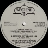 various-artists-west-end-disco-boogie-essentials-west-end-records-cover