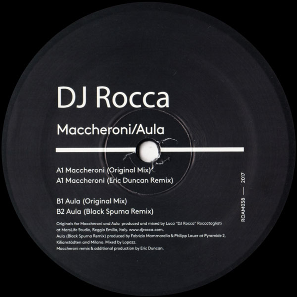 dj-rocca-maccheroni-aula-roam-recordings-cover