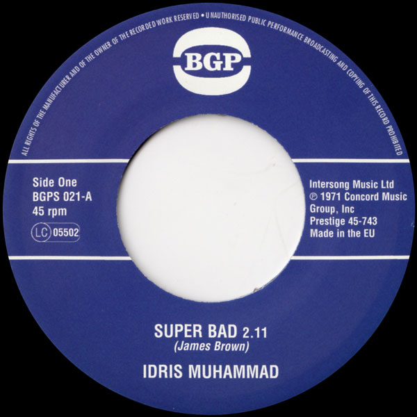 idris-muhammad-super-bad-express-yours-bgp-records-cover